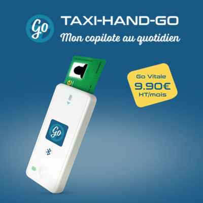 boitier go vitale facturation taxi cpam