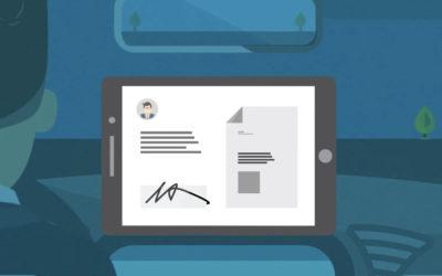 Création d'une fiche client sur Taxi-Hand-Go