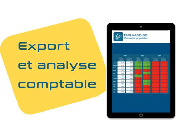 export factures taxi conventionné